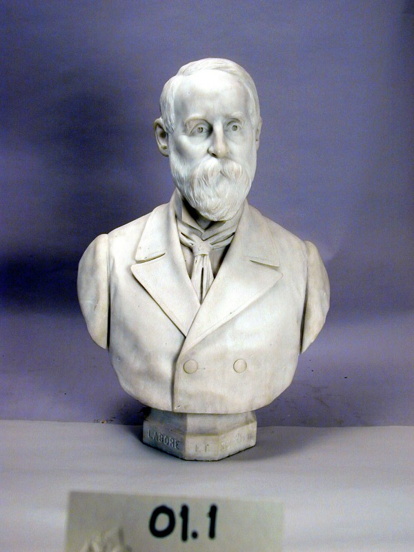 Angelo Viotti, Frederick Stearns, 1899, Marble. Detroit Institute of Arts.