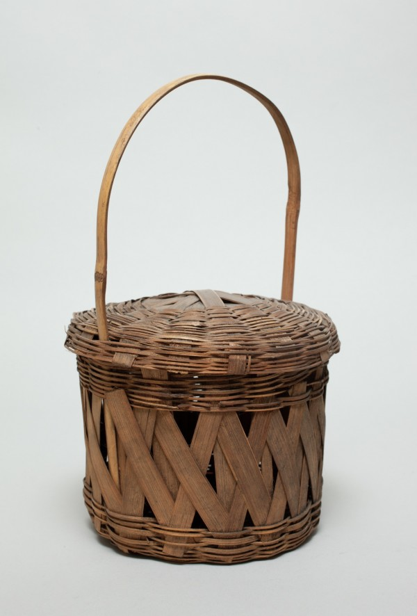 Unknown, Basket, n.d.a., Bamboo. Detroit Institute of Arts.