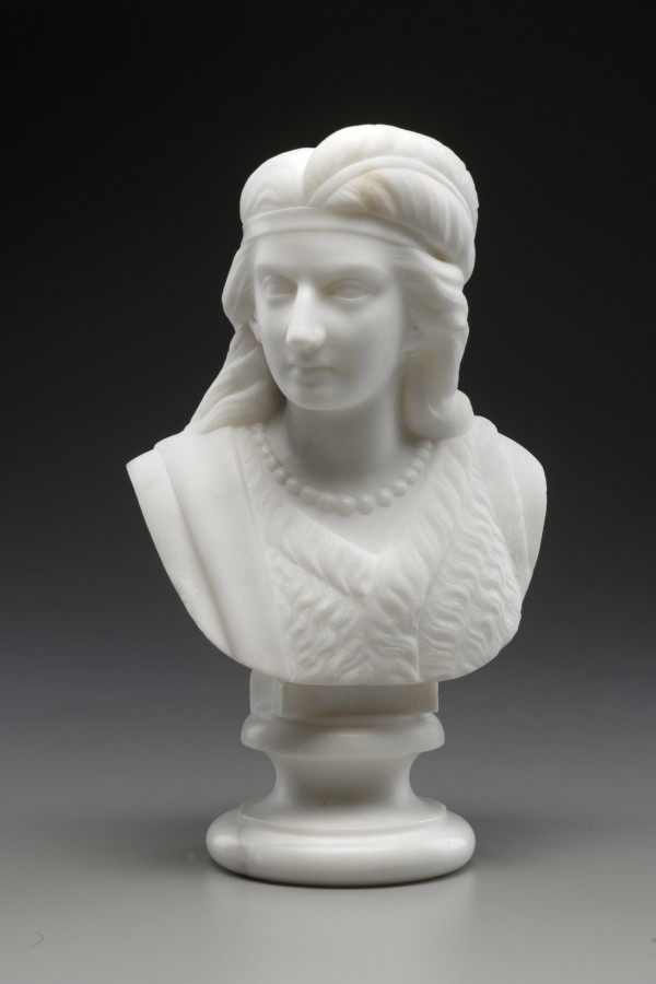 Mary Edmonia Lewis, Minnehaha, 1868, marble. Detroit Institute of Arts.