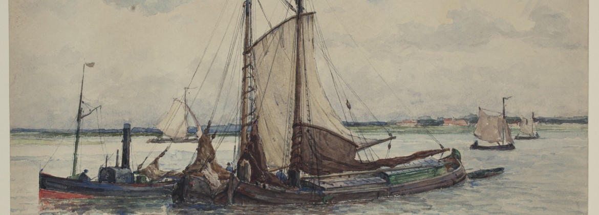 Painting of a sailboat