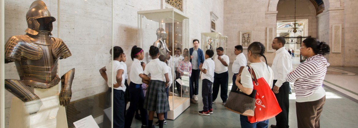 A field trip in the DIA's Great Hall