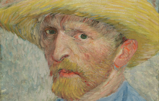 Self-Portrait, Van Gogh, 1887